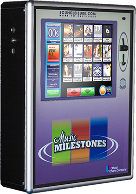 Music Milestones Jukebox - Pub jukebox for hire