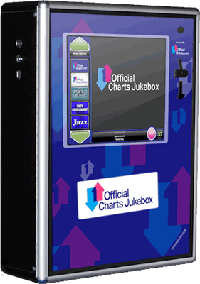 Official Charts Jukebox - Pub jukebox for hire
